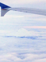 Yes, it is! Mighty Mt. Hood, just beginning to be covered by snow.