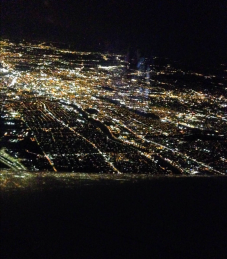 The jewels of this last U.S. city send us across the Atlantic on this clear night.