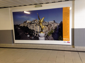 """First image at our stop in Reims (say the """"s"""", not the """"m""""), before heading on to Laon."""