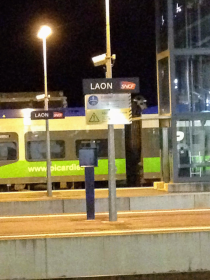 Laon, the next stop on the way...