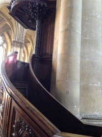A small staircase toward former concepts of the Divine?