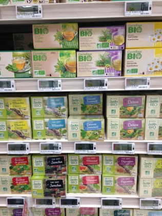 The nutrition section; organic is called... bīo!