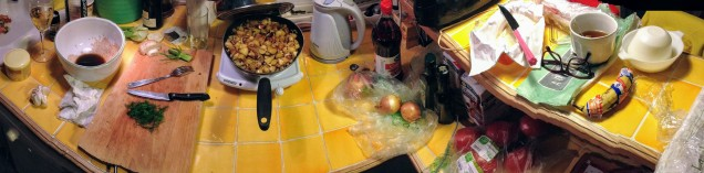 Fun in la cuisine!