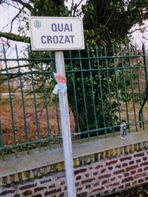 Snapping visual documentation on behalf of Bernard Croza, my host in Laon.